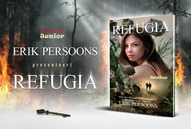 Jeugdboeken: voorstelling van Refugia door Erik Persoons