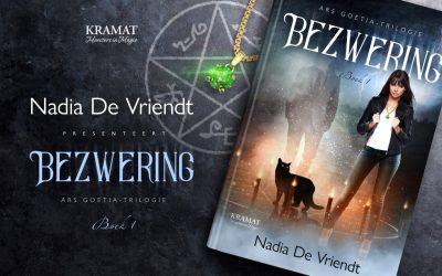 """Boekvoorstelling van """"Bezwering"""" door auteur Nadia De Vriendt"""