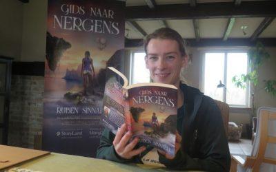 Ruben Sinnaeve stelt zichzelf en zijn boek voor